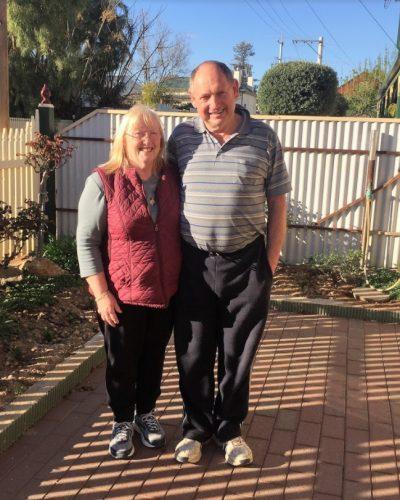 Helen and Peter Baker