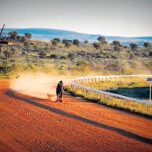 Broken Hill Racertrack Feb 2012
