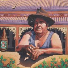 Man with Beer Murals004