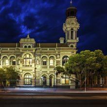Town Hall Facade Night
