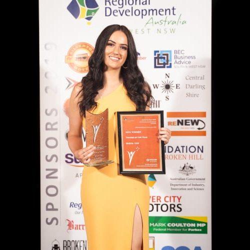 Trainee of the Year (Sasha Cox)